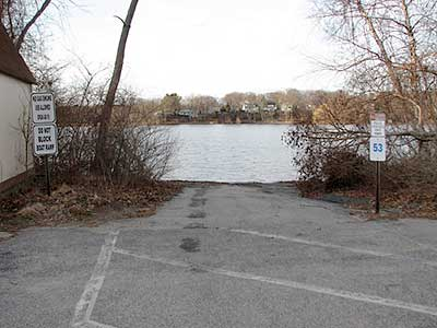 The Boat Ramp at Gorton Pond