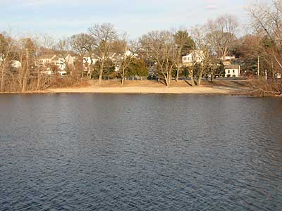 The Beach at Gorton Pond
