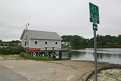 The Boat Ramp at Apponaug Cove