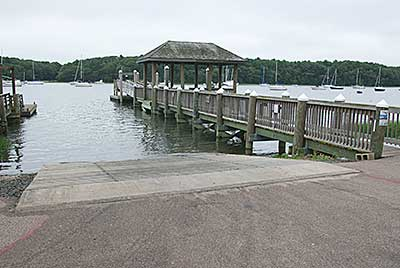 The Boat Ramp and Docks