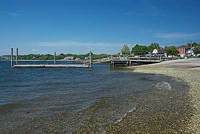 The Beach, Boat Ramp and Dock