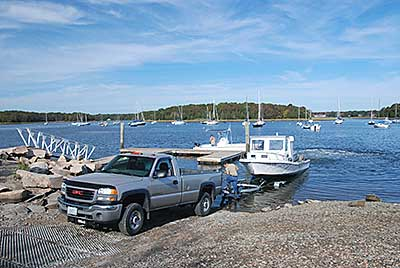 The Boat Ramp and Dock